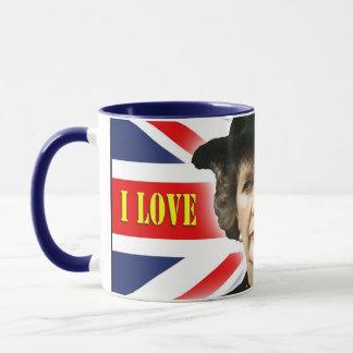 Margaret Thatcher I Love Maggie Mug