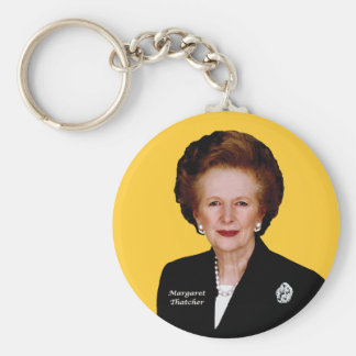 Margaret Thatcher Key Ring