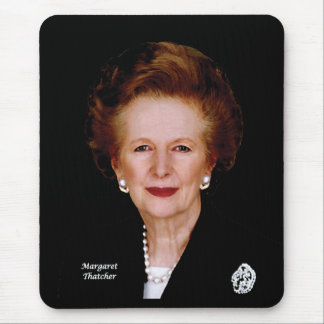 Margaret Thatcher Mouse Pad