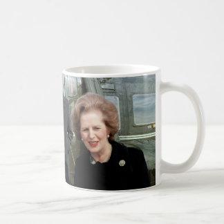 Margaret Thatcher Basic White Mug