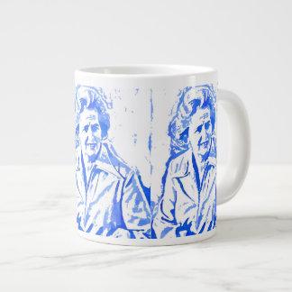 Margaret Thatcher Pop Art Portrait Jumbo Mug
