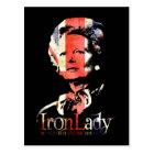 Margaret Thatcher Postcard