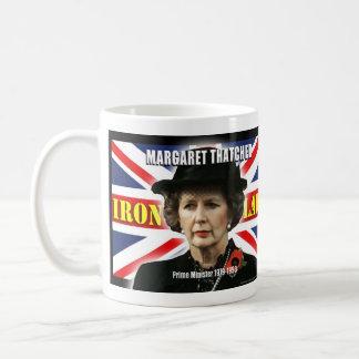 Margaret Thatcher Prime Minister Basic White Mug