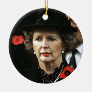 Margaret Thatcher Prime Minister Christmas Tree Ornaments