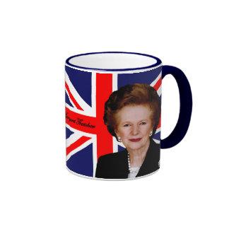 Margaret Thatcher Ringer Mug
