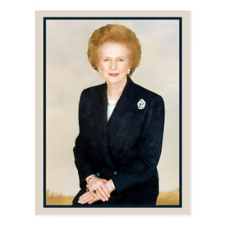 Margaret Thatcher The Iron Lady Post Cards