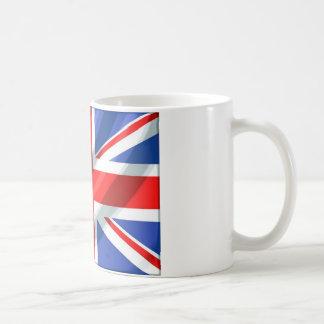 Margaret Thatcher Union Jack Basic White Mug