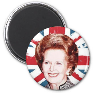 MARGARET THATCHER UNION JACK MAGNET