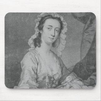 Margaret Woffington, engraved by John Faber Jr Mouse Pad