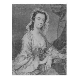 Margaret Woffington, engraved by John Faber Jr Postcard