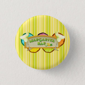Margarita bar 3 cm round badge