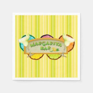 Margarita bar disposable napkins