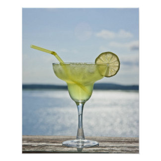 Margarita by the sea poster