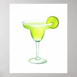 Margarita Cocktail Poster - SRF