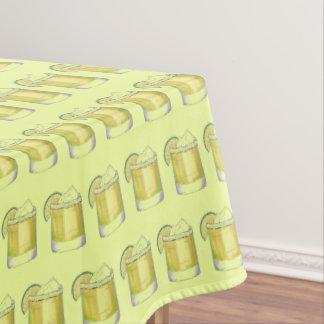 Margarita Cocktail Print Cinco de Mayo Mixed Drink Tablecloth