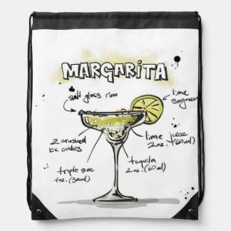 Margarita Drink Recipe Design Rucksack