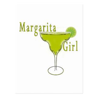 Margarita Girl Postcard