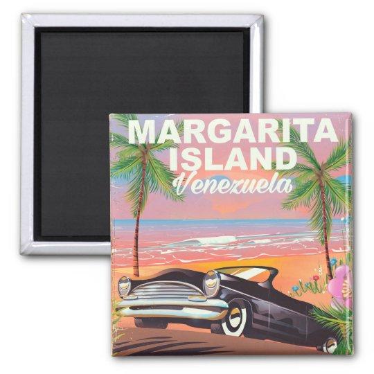 Margarita Island - Venezuela travel poster Magnet