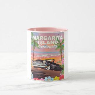 Margarita Island - Venezuela travel poster Mug