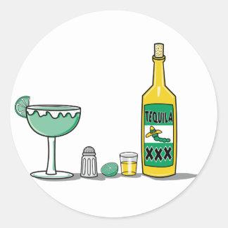 Margarita Mix Round Sticker
