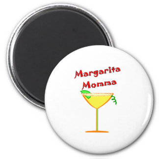 Margarita MOMMA T-Shirts & Gifts 6 Cm Round Magnet