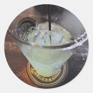 Margarita Monday Round Sticker