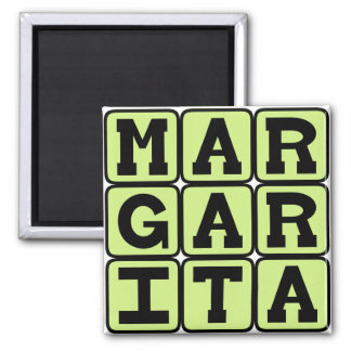 Margarita Tequila Mixed Drink Fridge Magnets
