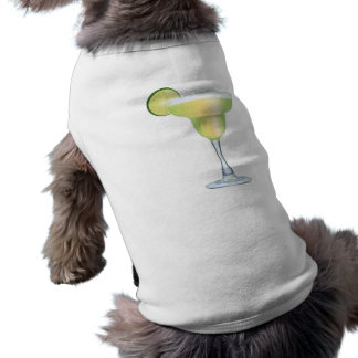 Margarita Time Sleeveless Dog Shirt
