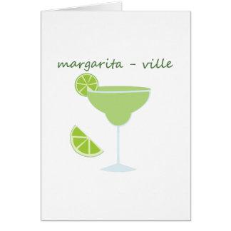 Margarita-ville Card