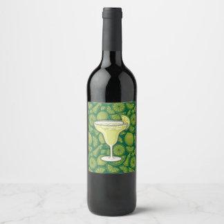 Margarita Wine Label