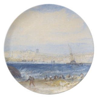 Margate, c.1822 (w/c on paper) plate