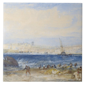 Margate, c.1822 (w/c on paper) tile