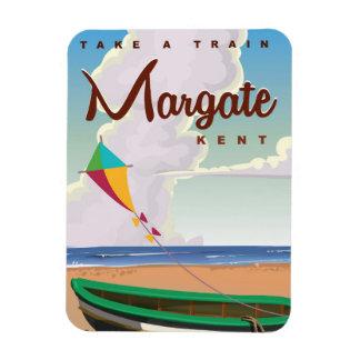 Margate Kent vintage travel poster Rectangular Photo Magnet