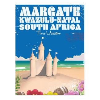 Margate, KwaZulu-Natal South Africa travel print Postcard