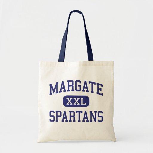 Margate Spartans Middle Margate Florida Canvas Bags