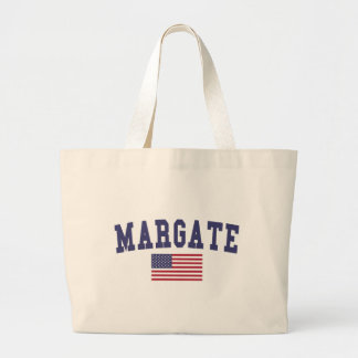 Margate US Flag Jumbo Tote Bag