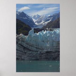 Margerie Glacier Alaska Poster