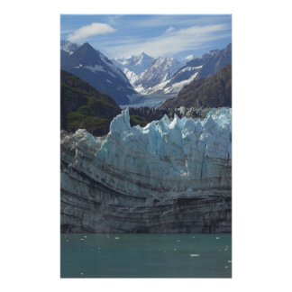 Margerie Glacier Alaska Stationery