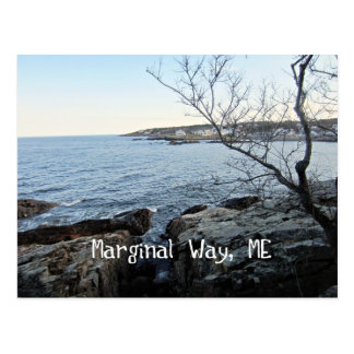 Marginal Way, Maine Postcard