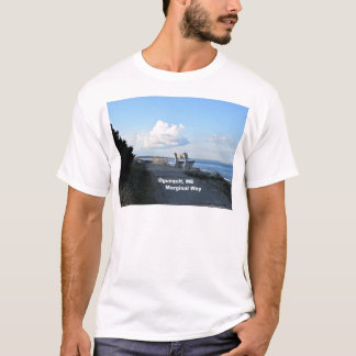 Marginal Way, Ogunquit, Maine T-Shirt