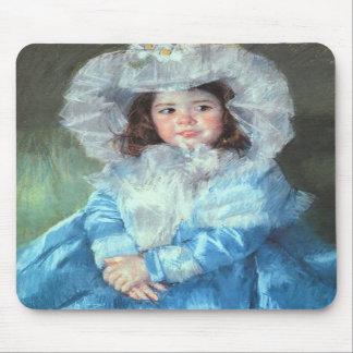 Margot in Blue, Mary Cassatt Mousepad