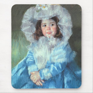 Margot in Blue Mary Cassatt Mousepad
