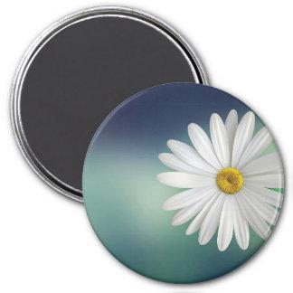marguerite 7.5 cm round magnet