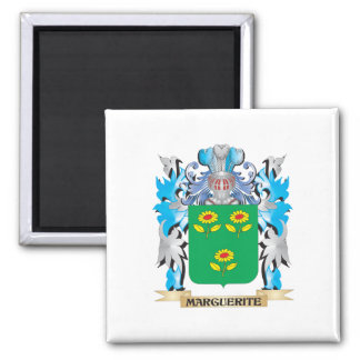 Marguerite Coat of Arms - Family Crest Fridge Magnet