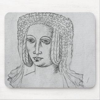 Marguerite de Brabant Mouse Mat