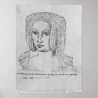 Marguerite de Brabant Poster