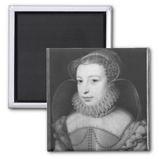 Marguerite de Valois  Queen of Navarre Square Magnet