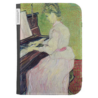 Marguerite Gachet at the Piano 1890 Kindle Case