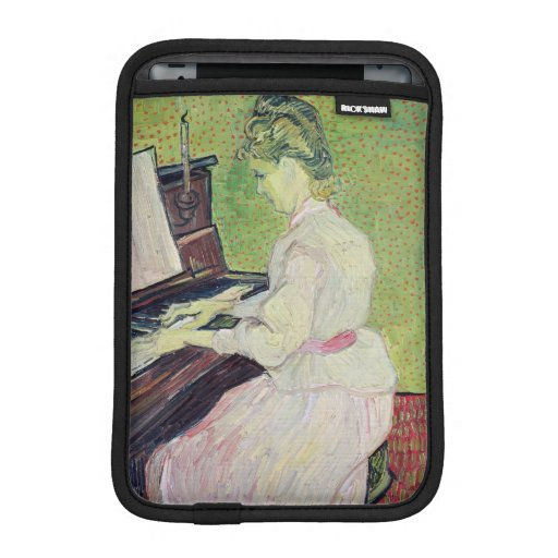 Marguerite Gachet at the Piano, 1890 Sleeve For iPad Mini