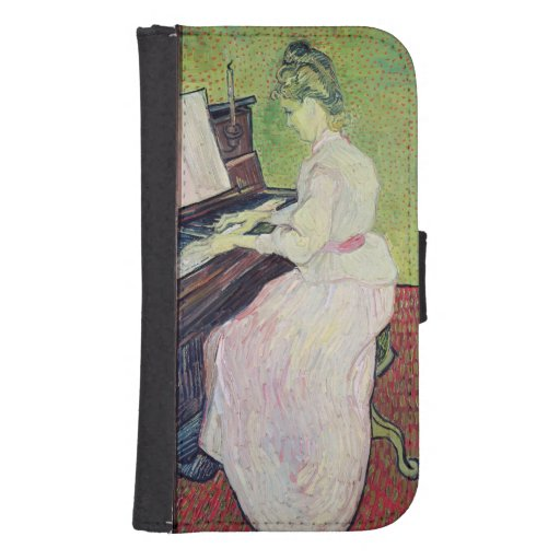 Marguerite Gachet at the Piano, 1890 Phone Wallet Cases